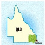 A Map of South East Queensland